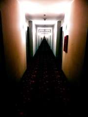 What could be waiting at the end of this hallway?